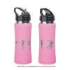 """Бутылка спортивная """"Индиана"""" с покрытием soft touch, розовая"""
