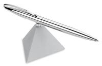 Ручка шариковая «Вертолет», серебристая, с черными чернилами
