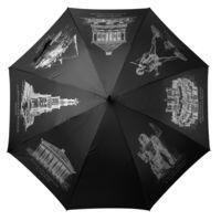 Зонт-трость «Восьмое чудо света», черный